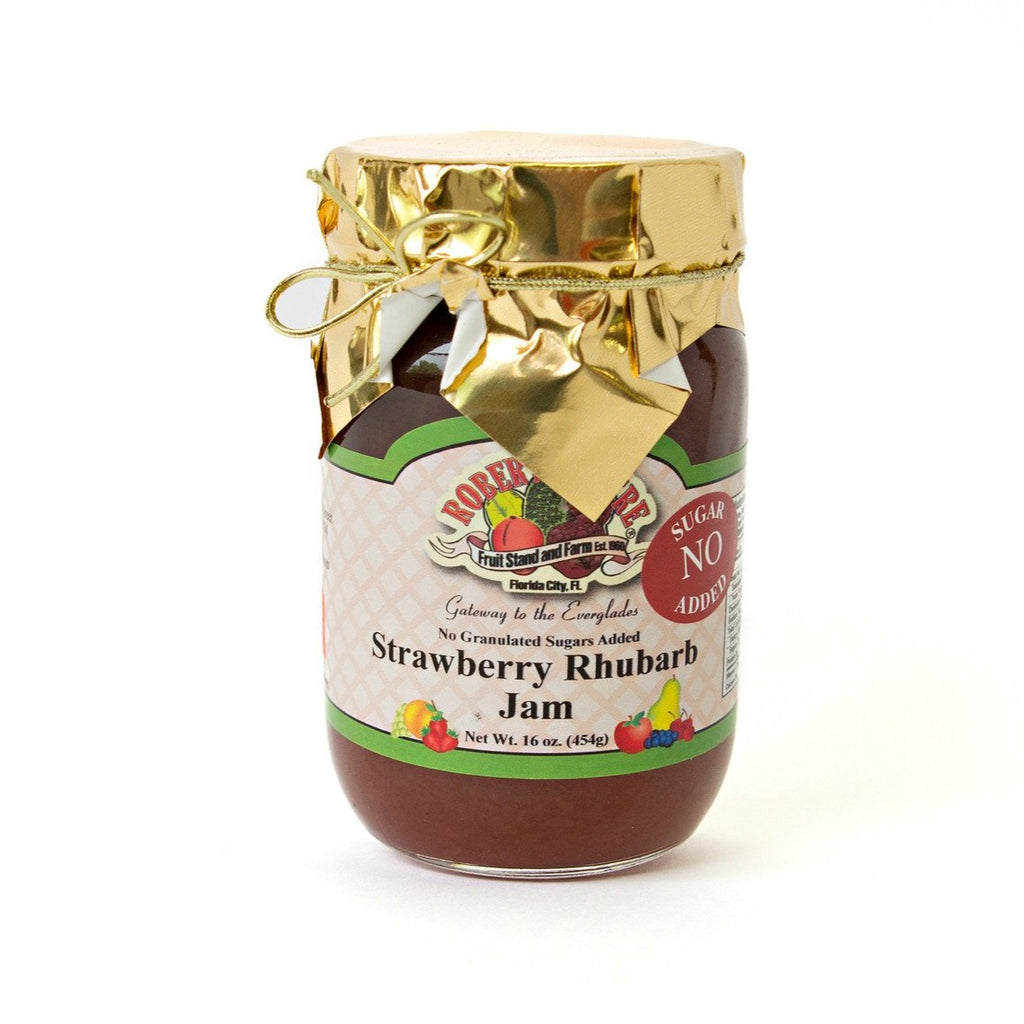 No Sugar Added Strawberry Rhubarb Jam
