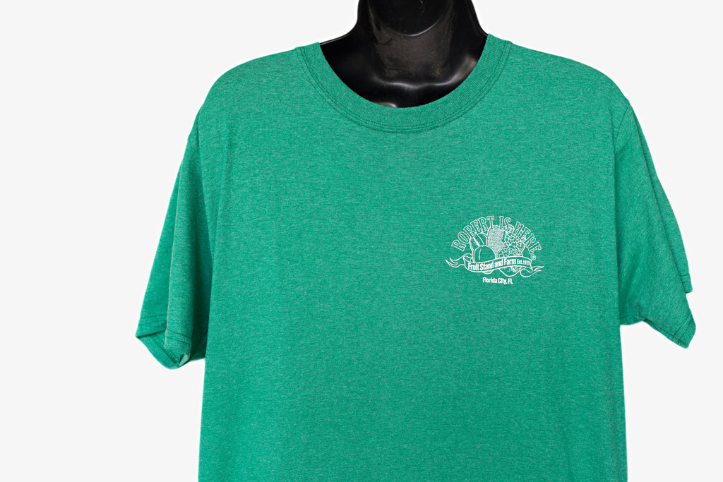Robert Is Here T-shirt - Green