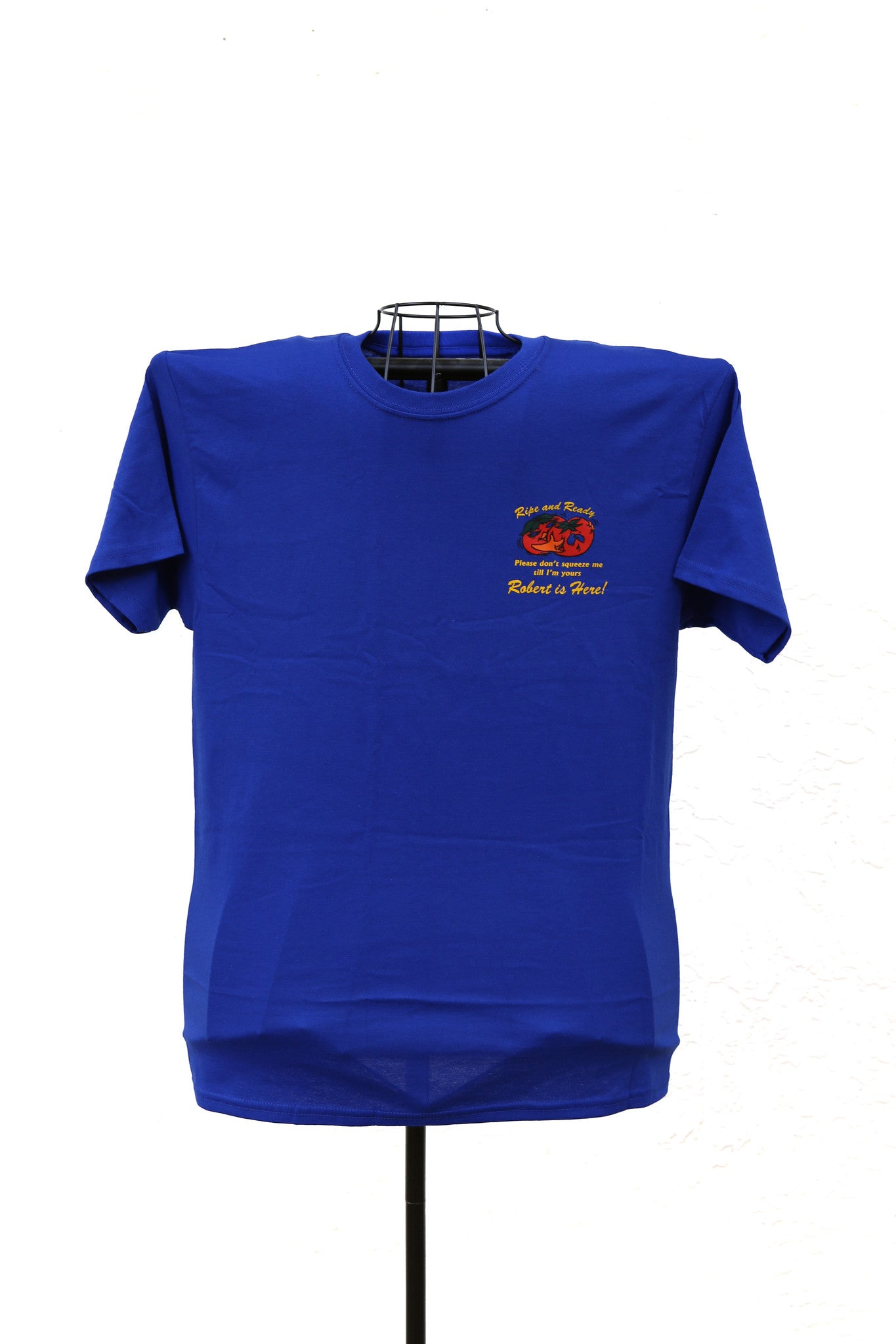 Robert Is Here T-shirt - Blue