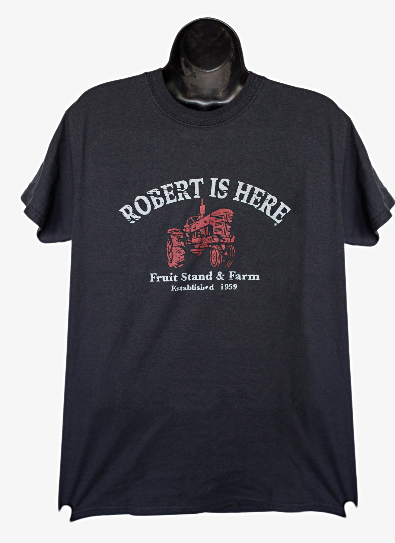 Robert Is Here T-shirt - Black