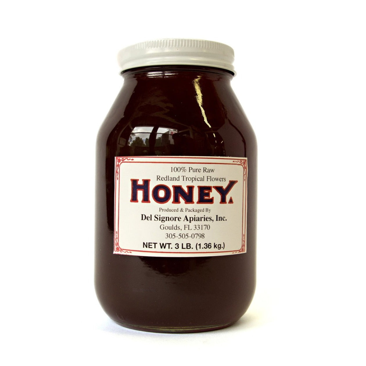 Redland Tropical Flower Honey (48oz.)