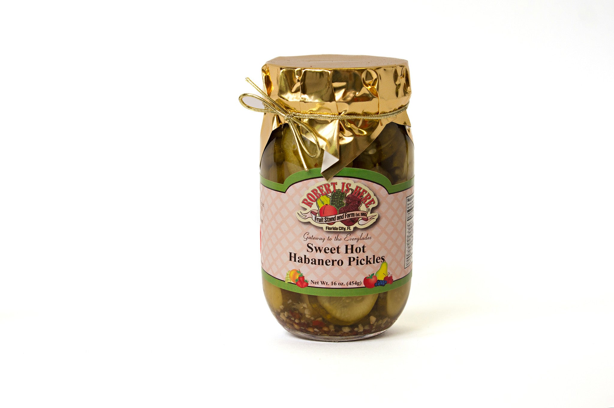 Sweet Hot Habanero Pickles