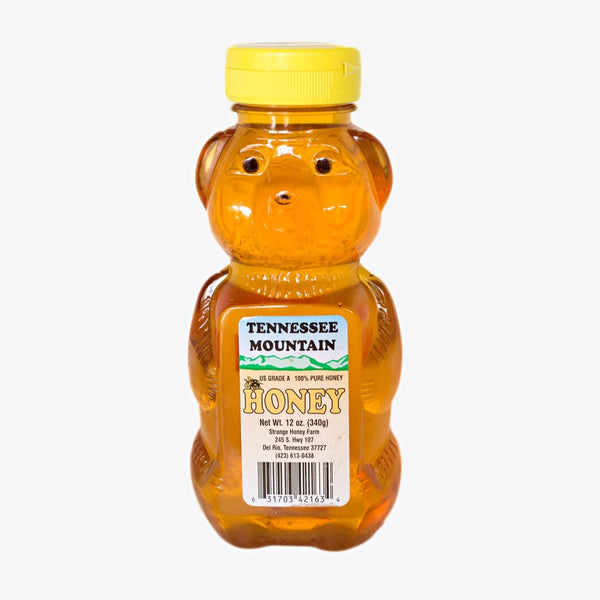 Tennessee Mountain Sourwood Honey Bear