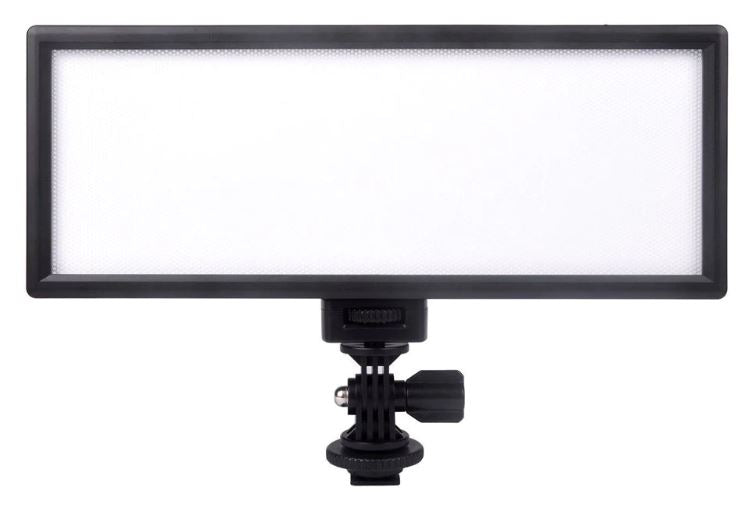 LED Ultra Thin LCD Display Video and Photo Light