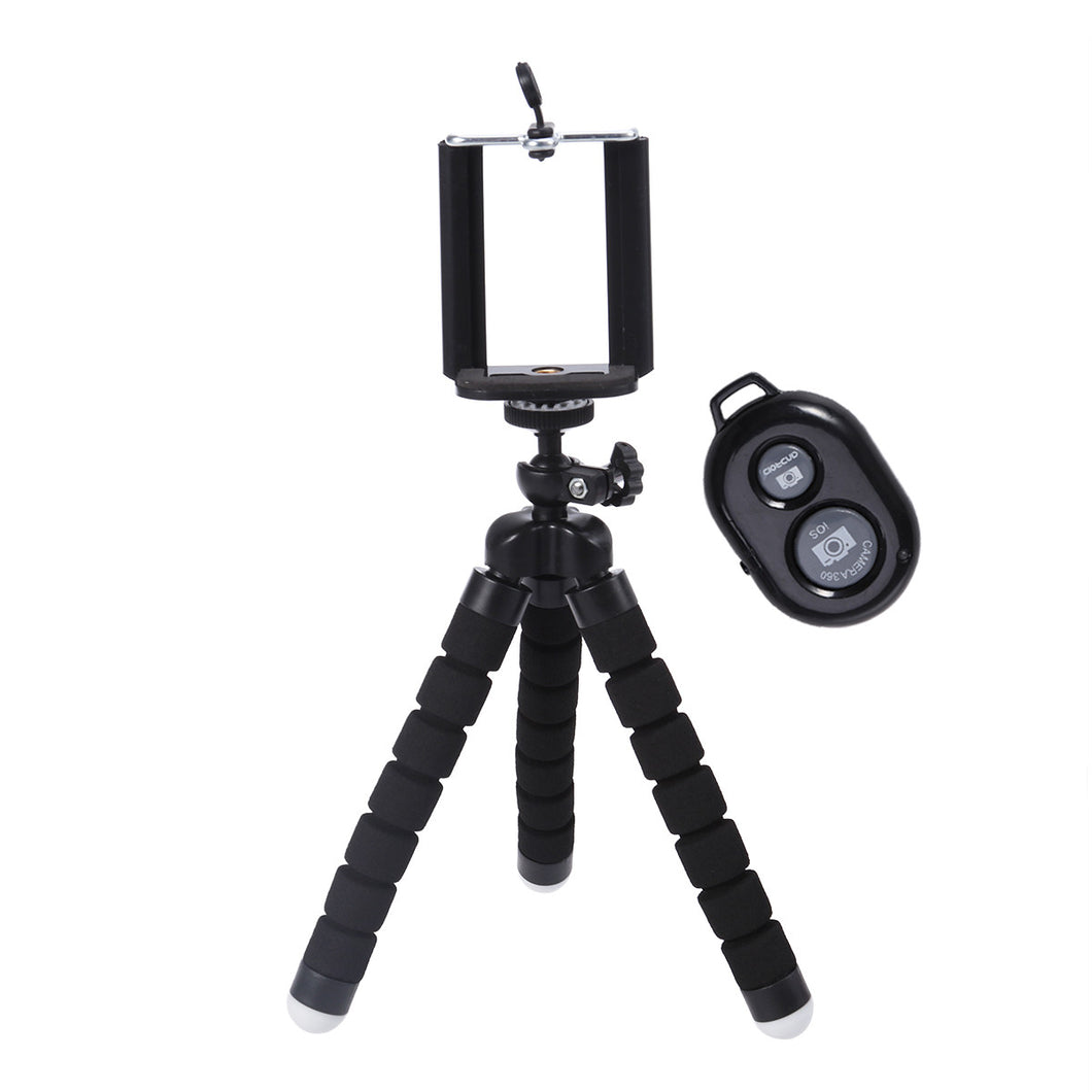 Universal Selfie Stick Tripod with Bluetooth Remote