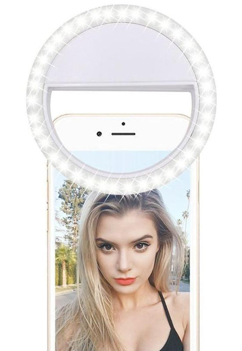 On-The-Go Selfie Ring Light