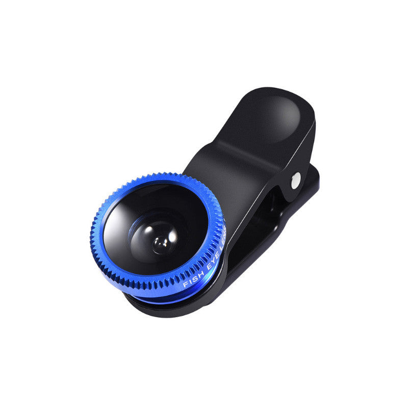 3-in-1 Smartphone Camera Lens Wide + Macro + Fish Eye