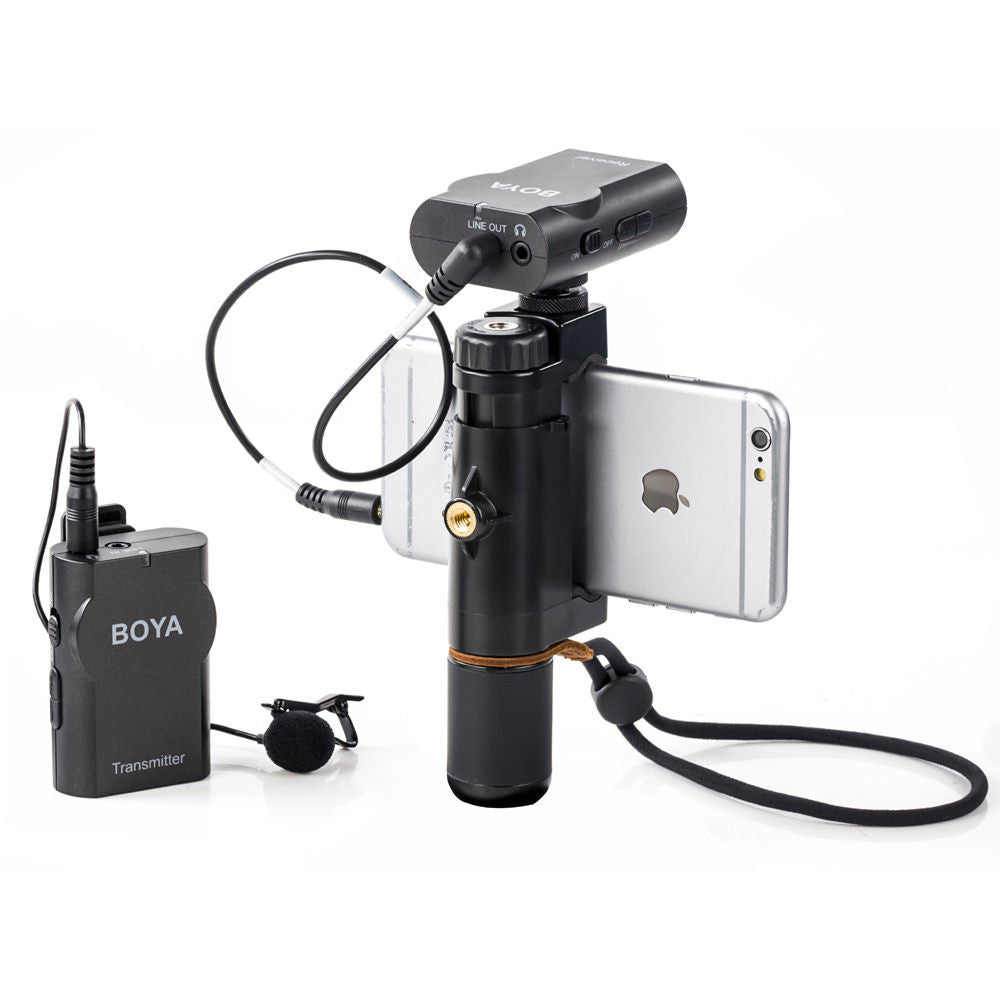 Wireless Lavaliere Smartphone Microphone System