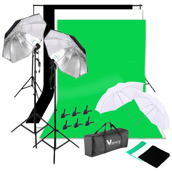 Starter Influencer Studio With Umbrella Lighting