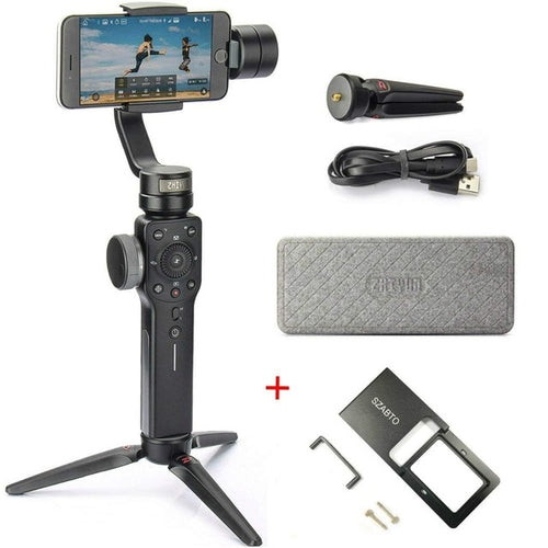 3-Axis Handheld Gimbal Portable Stabilizer for Smart phone iPhone Samsung - Zhiyun Smooth 4