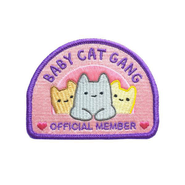 "Baby Cat Gang 3"" Iron-on Patch"