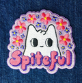 Spiteful Kitten Iron-on Patch