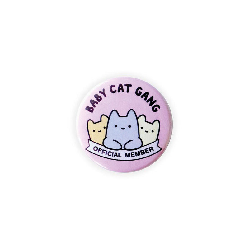 Baby Cat Gang Button