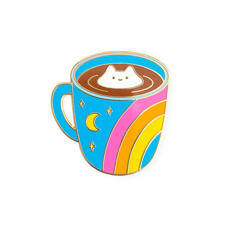 Cosmic Coffee Cup Enamel Pin