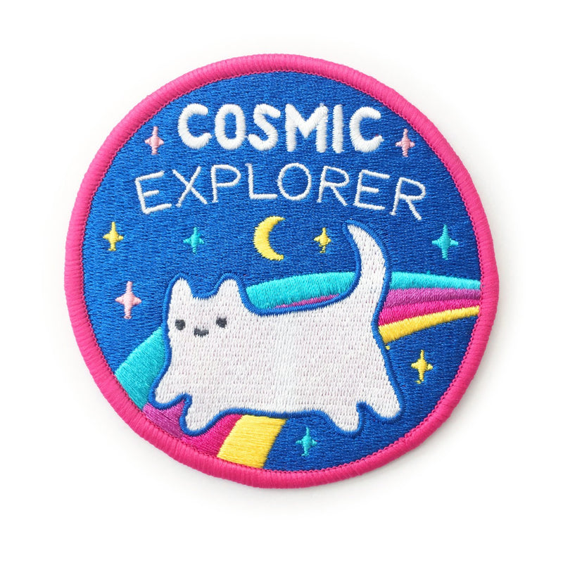Cosmic Explorer Iron-on Patch