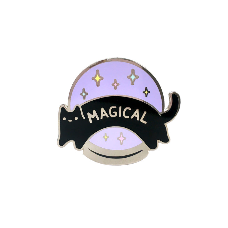 Magical Crystal Ball Enamel Pin