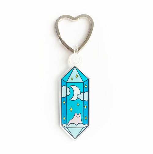 Mystical Crystal Keychain