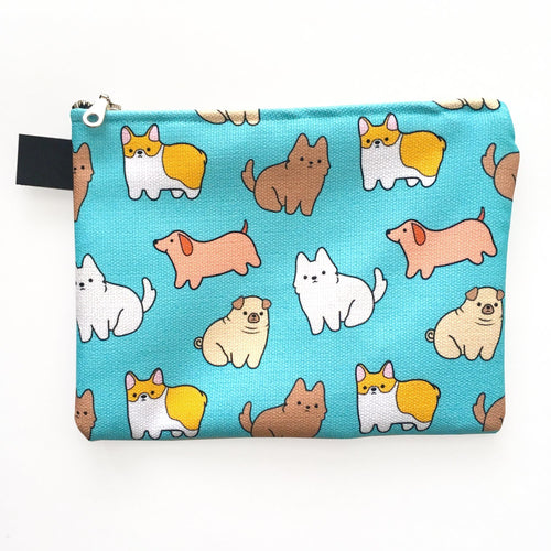 Baby Pups Zipper Pouch