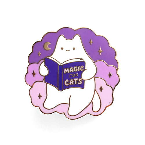 'Magic for Cats' Enamel Pin