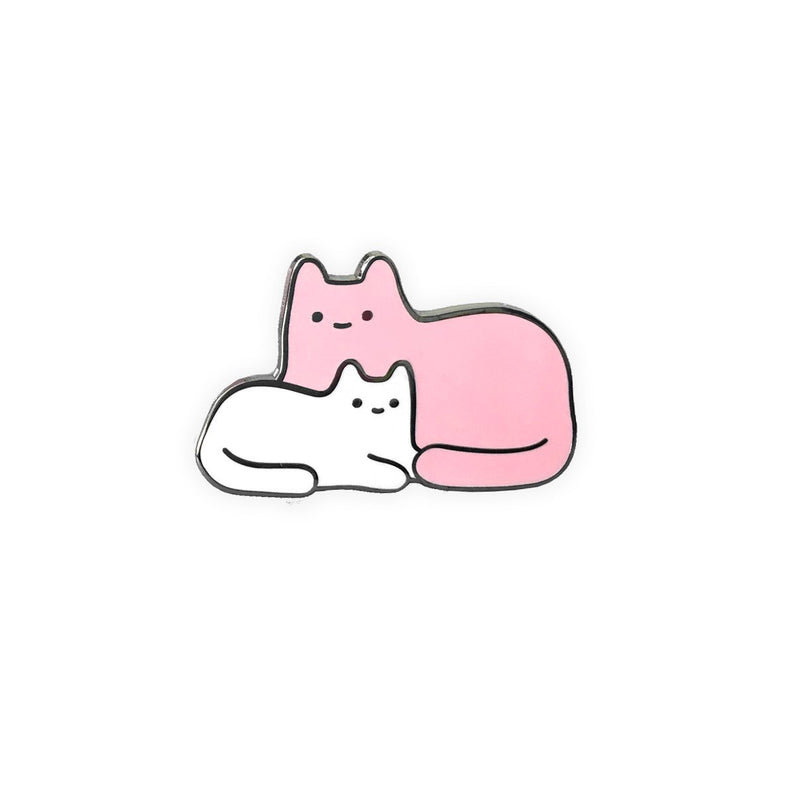 Mama & Baby Cat Enamel Pin