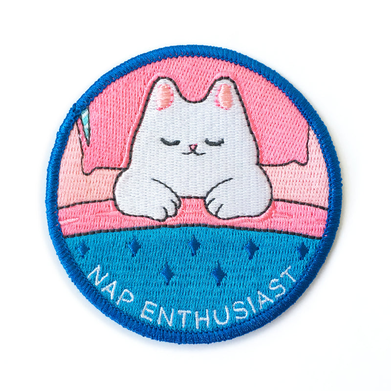 "Nap Enthusiast 3"" Iron-on Patch"