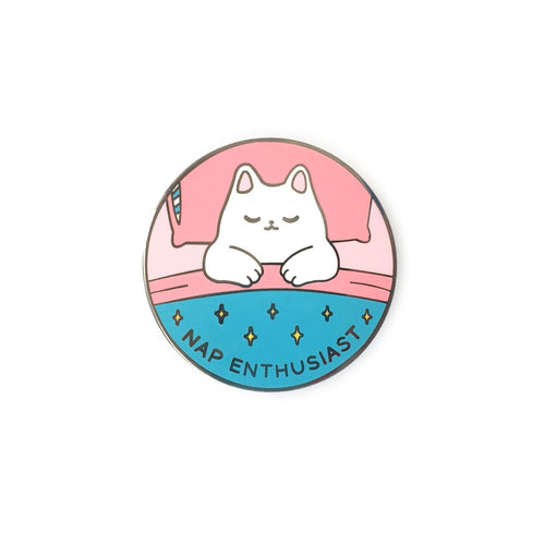 Nap Enthusiast Enamel Pin