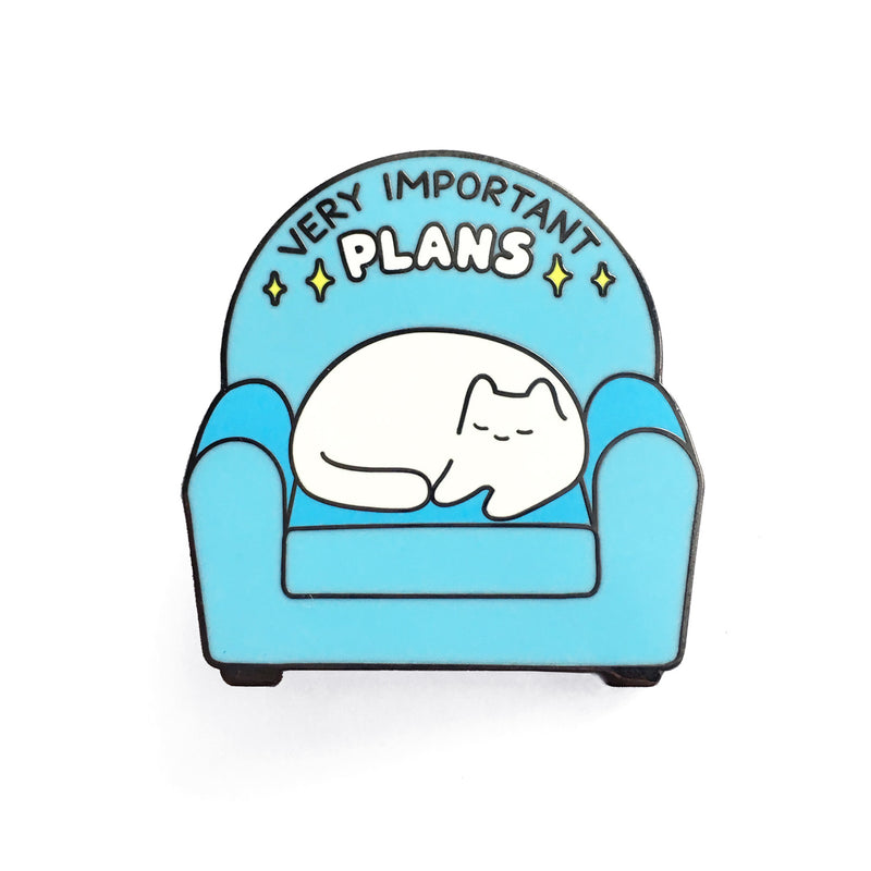 'Very Important Plans' Enamel Pin