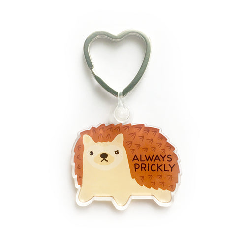 Always Prickly Keychain