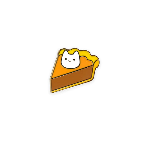 Pumpkin Pie Cat Enamel Pin