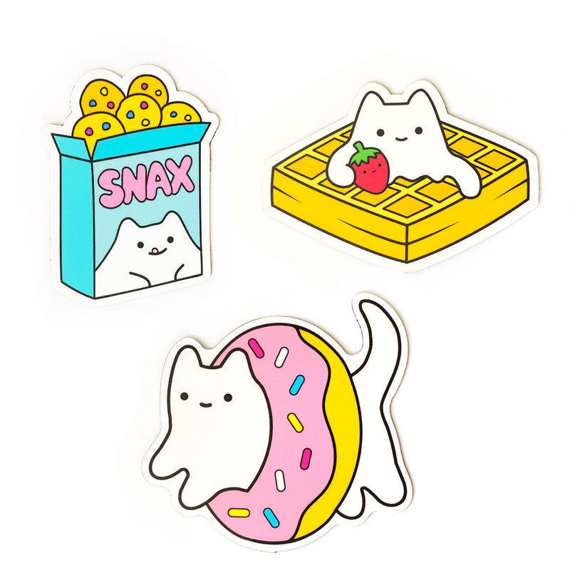 Dessert Cats Magnet Set (3 Magnets)