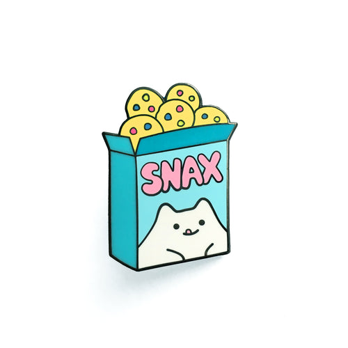 Snack Box Enamel Pin