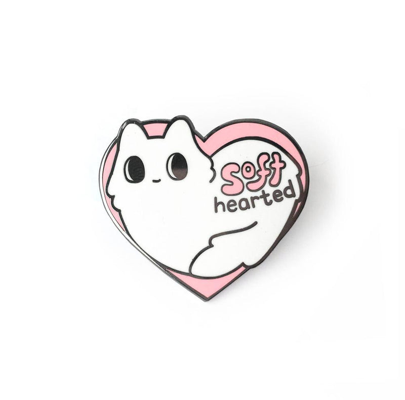 Soft Hearted Enamel Pin