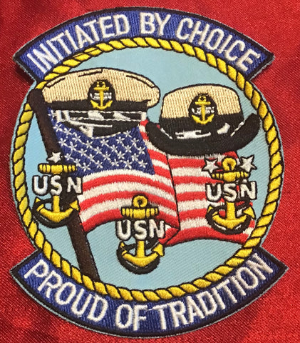Chief CPO INITIATED BY CHOICE PATCH 4""