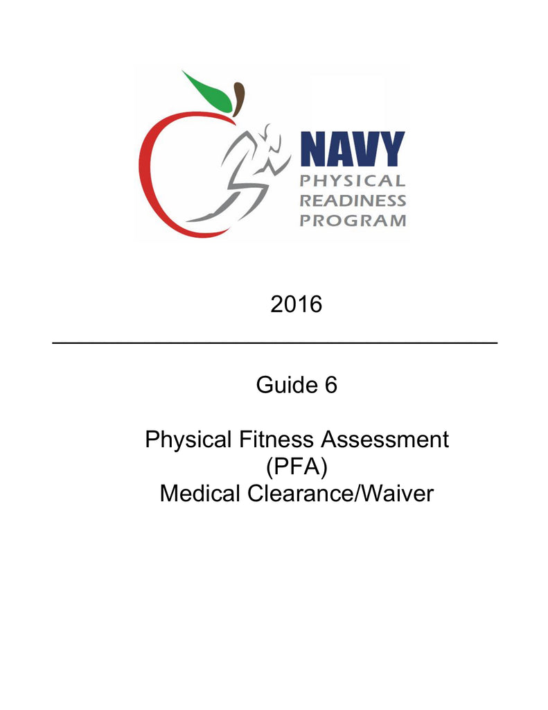 navy physical readiness program guide 6 the boatswain s mate store rh theboatswainsmatestore com navy physical readiness program guide 1 navy physical readiness program guide 6