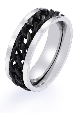 Stainless Steel Chainlink Rings