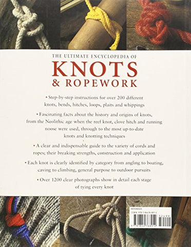 The Ultimate Encyclopedia of Knots and Ropework: Over 200