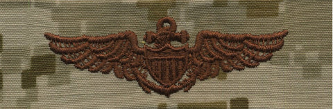 NWU Type II Warfare Devices & Breast Insignia Officer