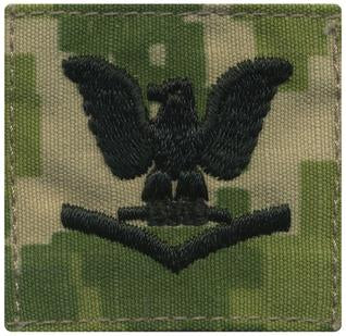 NWU Type III Enlisted Rank Cap Device