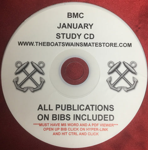 BM STUDY CD FOR THE ACTIVE/FTS JANUARY 2021 CPO EXAM