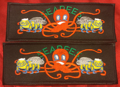 SEABEES & OCTOPUS LIBERTY CUFF SET