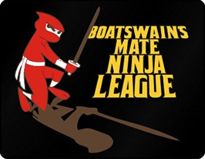Boatswain's Mate Ninja League Plastic Acrylic