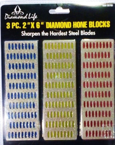 DIAMOND HONE BLOCK Set of 3