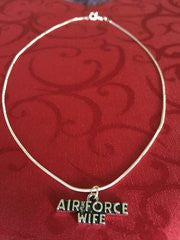 Military Wife Sterling Silver Necklace