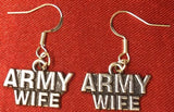 Military Sterling Silver Earring