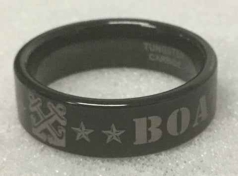 Boatswain's Mate Tungsten Ring