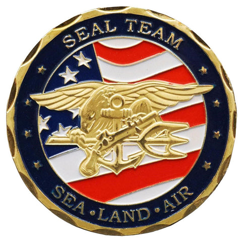 United States Navy Seal Team Coin The Boatswains Mate Store