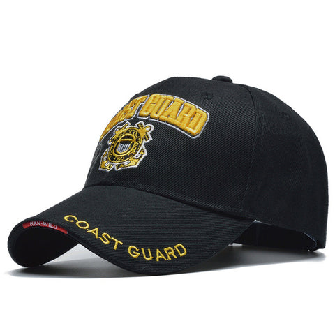 Coast Guard Army Baseball Cap Snapback