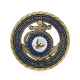 Navy Honor Courage Commitment Coin