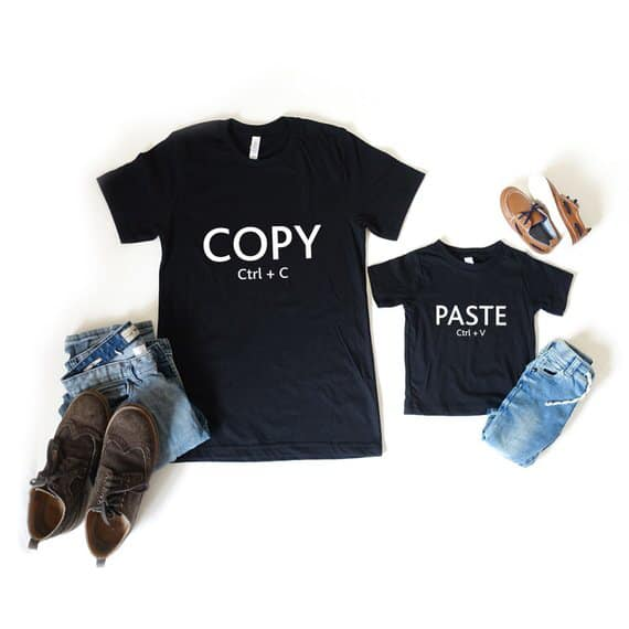 T Shirt for the Dad  and Son in Your Life