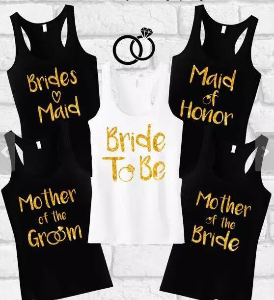 Wedding Tank Tops